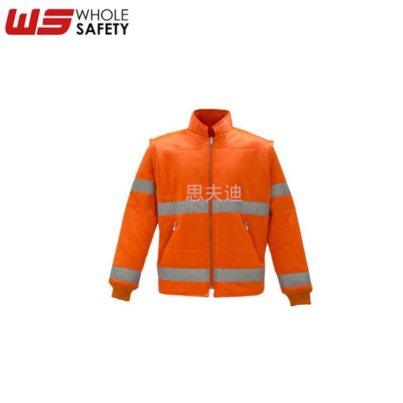 思夫迪廠家供應高可視熒光工作服 反光工作服 滌棉工作夾克可定製