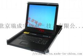 KVM切换器热键8口USB机架折叠抽拉式17寸机柜