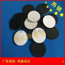 厂家直供硅胶垫 黑色带胶硅胶脚垫 乳白色硅胶垫片