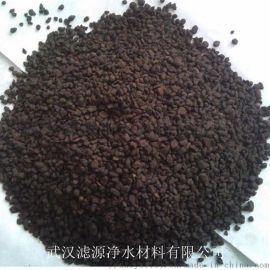 除铁除锰选天然锰砂滤料,氧化锰含量35%