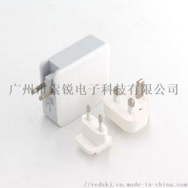 QC3.0PD协议type-c带USB充电器65W