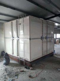 玻璃钢拼接水箱 施工玻璃钢消防水箱