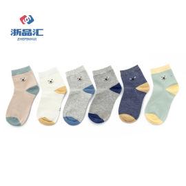 厂家定制儿童纯棉袜,儿童卡通棉袜