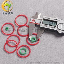 食品级白色透明硅胶圈 耐高温红色硅胶O型密封圈