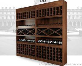 杭州实木酒柜|板式酒柜|不锈钢酒架|整体酒柜定制