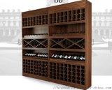 杭州實木酒櫃 板式酒櫃 不鏽鋼酒架 整體酒櫃定制