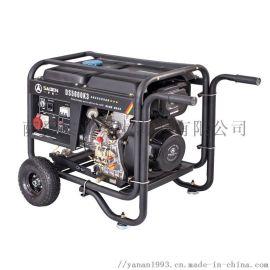 萨登5KW220V家用小型单相5Kw三相380伏发电机