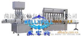 蜂蜜粘稠制品灌装生产线  糖浆蜂胶液灌装机设备