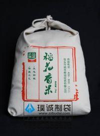 郑州璞诚加工大米帆布袋,帆布袋定做批发厂家