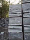 黑色文化石|黑色蘑菇石|黑色外牆磚廠家直銷