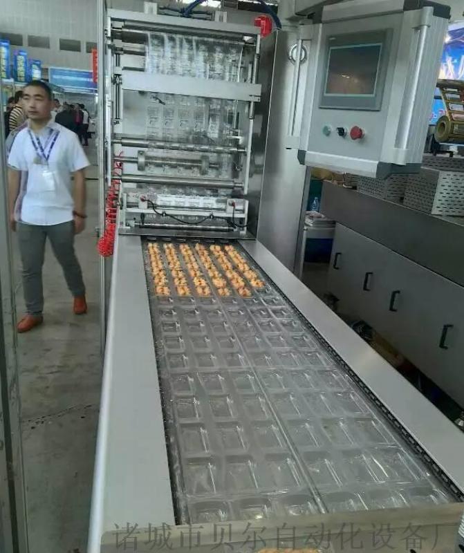 供应牛肉干全自动真空包装机