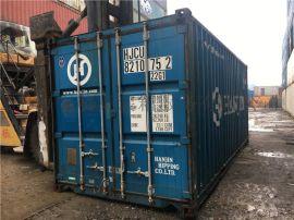 二手集装箱,旧20尺集装箱低价处理
