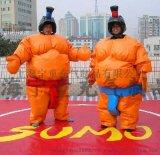 趣味運動會道具充氣相撲服充氣毛毛蟲