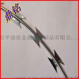 刀片刺绳刺丝刺网防护网厂家