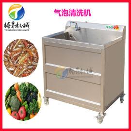 果蔬清洗设备厂家  气泡臭氧果蔬清洗机