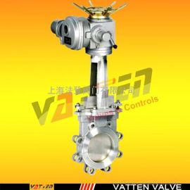 德国VATTENz673F-16P 法兰截止阀中德合资上海工厂 电动304刀闸阀