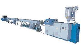 PE供水管生产线, PE塑料管材生产线青岛佳森厂家直销价格低