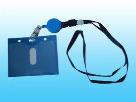 卡套工厂专业生产证件挂绳卡套,胸卡易拉得易拉扣