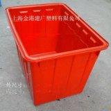 供應800*575*610 塑料週轉箱 塑料水箱 pe水箱 可套式週轉箱