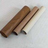 穿孔铝圆管吊顶厂家加工定制粉末漆U型槽木纹铝方管