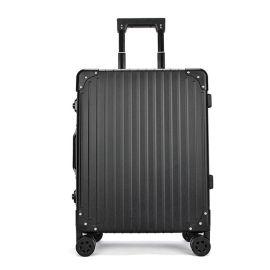 上海批发箱包定制高端铝镁合金拉杆箱旅行箱全铝行李箱