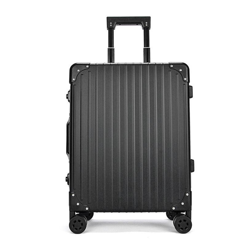 上海批發箱包定製高端鋁鎂合金拉桿箱旅行箱全鋁行李箱