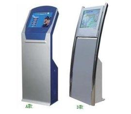 19寸落地触摸查询机,信息查询机,触控一体机;银行排队机