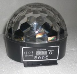 蜘蛛网LED水晶魔球