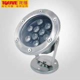 Touve托維LED水底燈 10W水底燈 led綠色照明燈具