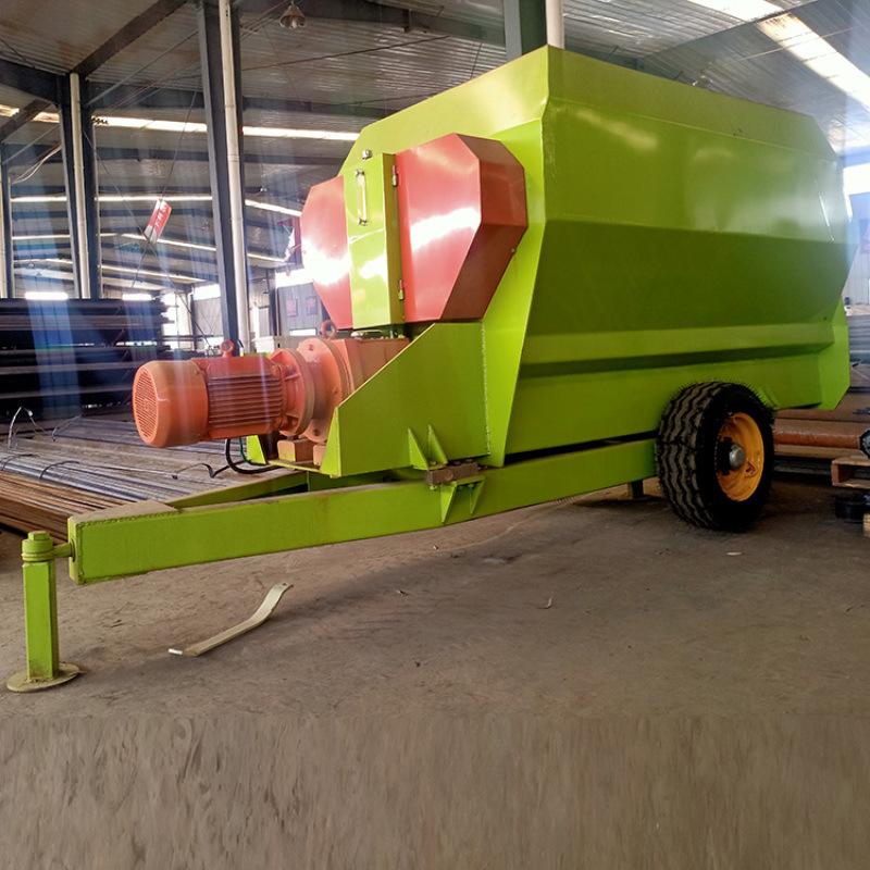牛场青储粗饲料搅拌机 养殖发酵草料搅拌机