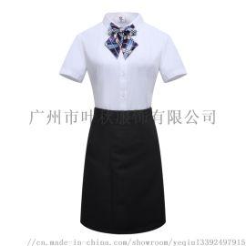 广州女式衬衫 办公白领职业装套装