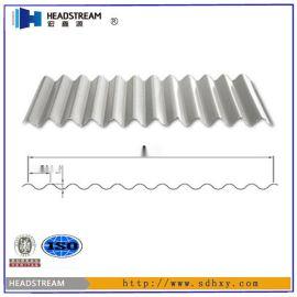 彩鋼瓦型號 山東彩鋼瓦廠家供應 規格型號齊全 YX18-76.2-836/1064(弧形)型彩鋼瓦介紹