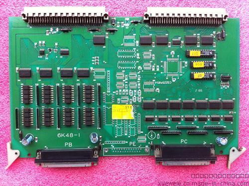 海天弘讯6K48-1电脑板 弘讯C6000型电脑CPU/IO板 6KIO-1 6K48-1