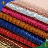 2015促銷蛇紋pu皮革面料 鱷魚紋箱包手袋革