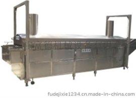 裹粉花生生产线(青豆、坚果油炸机,油炸生产线,裹粉花生)