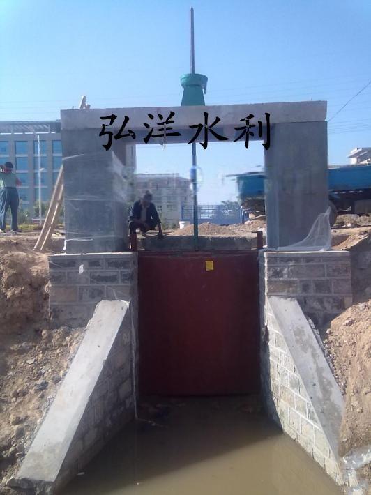 方形2.5米*2.5米铸铁镶铜闸门 水电站   可提供图纸