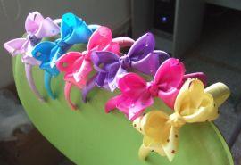 自设工厂纯手工制作花边织带蝴蝶结