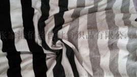 人棉/粘胶氨纶大循环汗布 大循环面料
