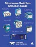 苏州启道最具优势代理销售Teledyne旗下全系列射频微波开关CCR-40K系列