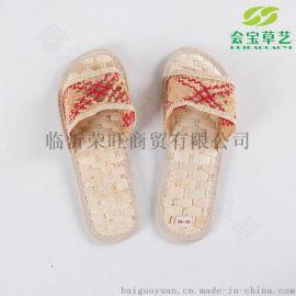 夏季热销会呼吸的38-39码男款玉米皮**草鞋CX005A 厂价直销超值