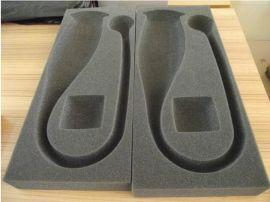 供应各类海绵植绒内托包装盒 贴绒布植绒eva托盘盒子