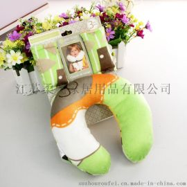 儿童u型枕 婴儿防侧翻枕 外贸小枕头