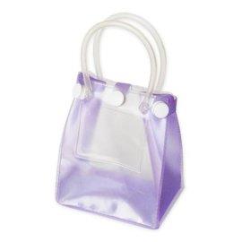彩色PVC手提礼品袋 纽扣袋