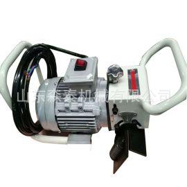 供应电动坡口机 便携式钢板坡口机 手持提式平板倒角机五金工具