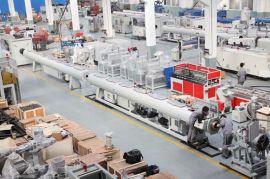 厂家供应塑料挤出机;管材挤出生产线设备,PE管材设备