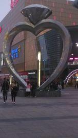 广场雕塑金属钻石文化中心金属造型制品