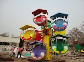 儿童观览车6仓观览车公园游乐设备
