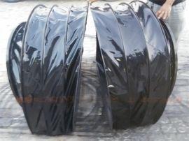 4D5D6D7影院机器人座椅风琴防护罩仿真模拟座椅围裙伸缩皮腔新品