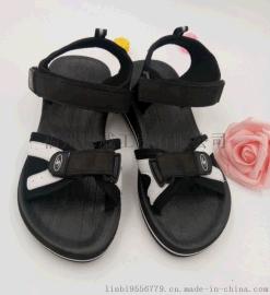 【厂家直销】夏季男款凉鞋**扣方便耐穿 韩版个性运动登上凉鞋