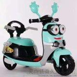 兒童小黃人電動摩托車 益久Y11